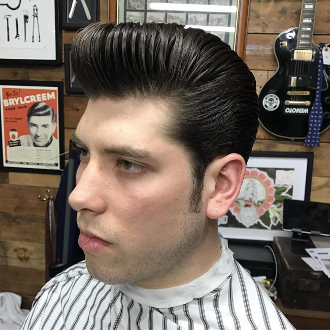 Pompadour Haircut 53