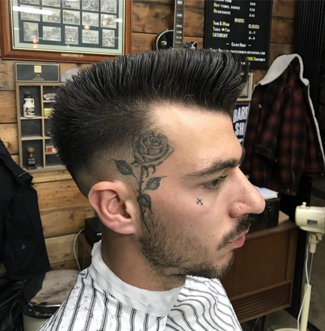 Pompadour Haircut 54