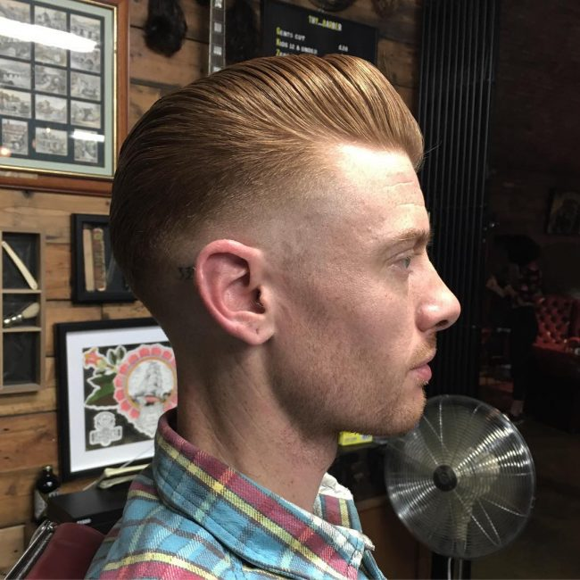 Pompadour Haircut 55