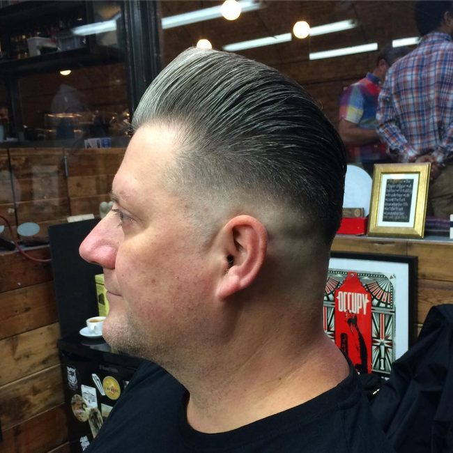 Pompadour Haircut 56
