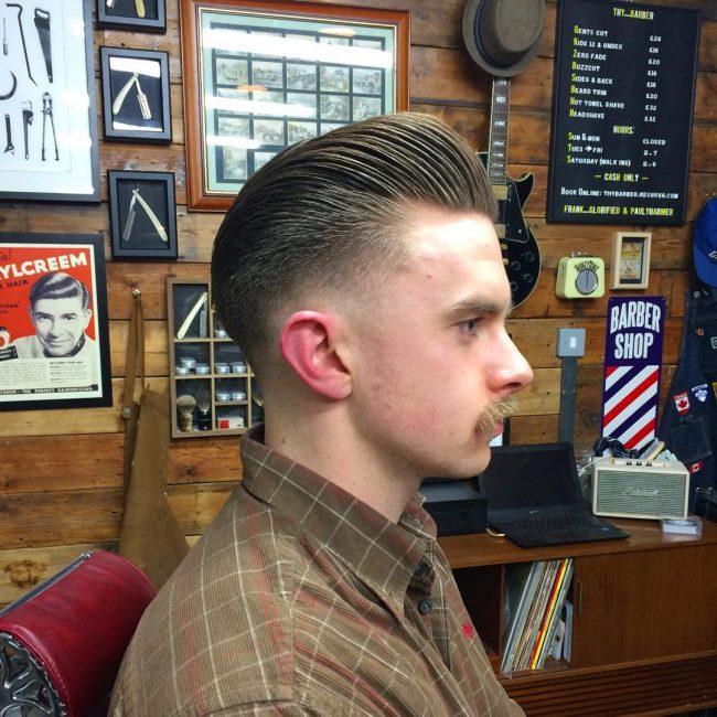 Pompadour Haircut 58
