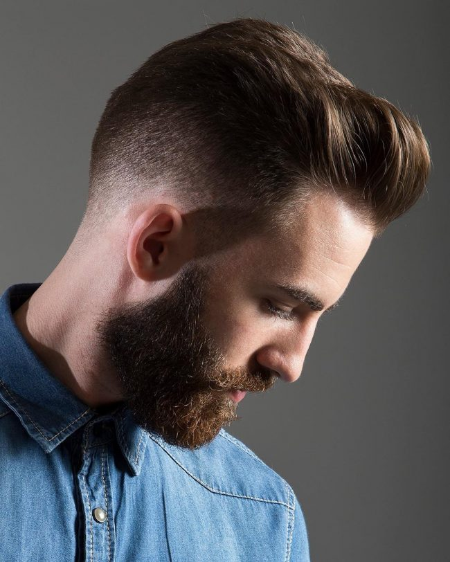 Pompadour Haircut 59