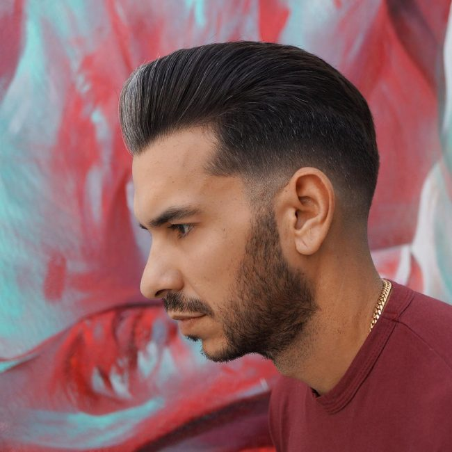 Pompadour Haircut 60