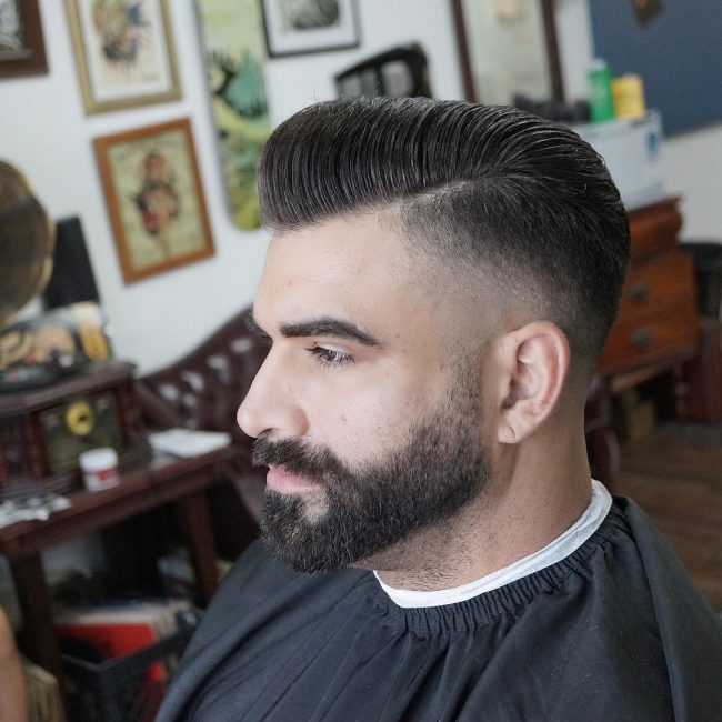 Pompadour Haircut 62