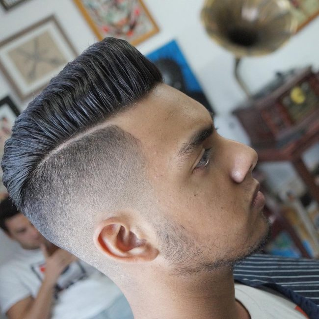 Pompadour Haircut 63