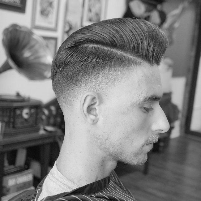 Pompadour Haircut 64