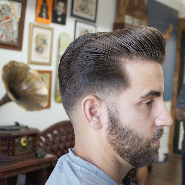Pompadour Haircut 65