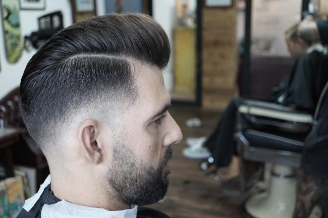 Pompadour Haircut 67