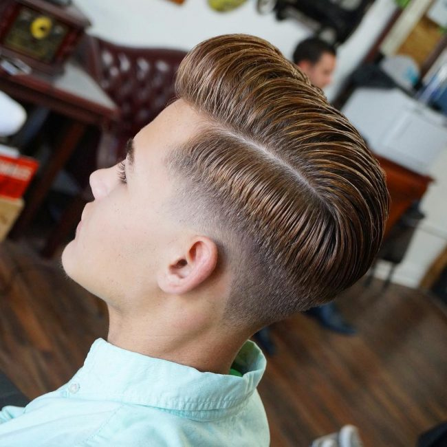 Pompadour Haircut 70