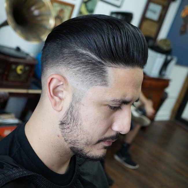 Pompadour Haircut 72