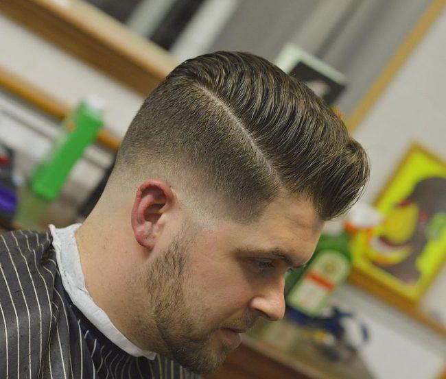 Pompadour Haircut 73