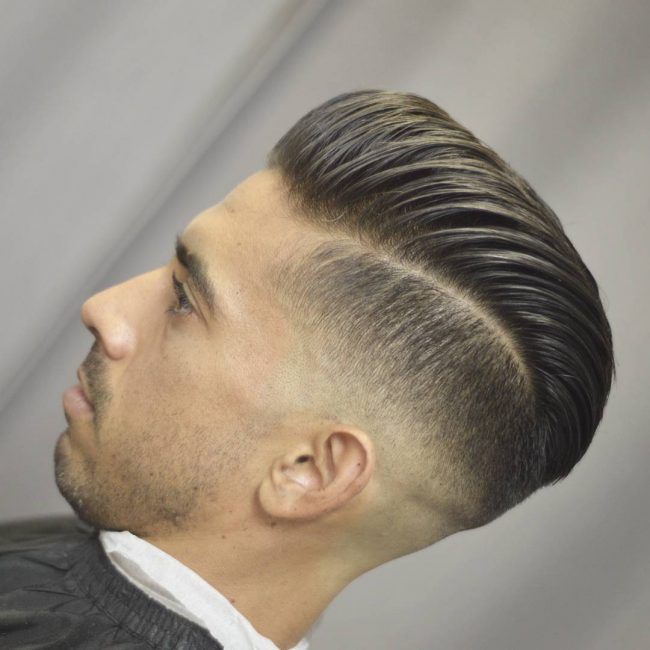 Pompadour Haircut 74