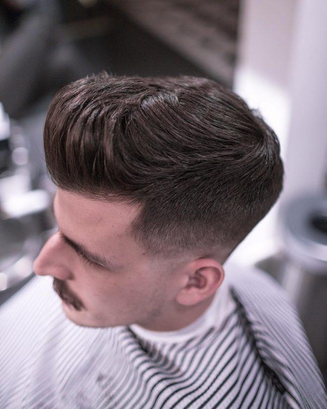 Pompadour Haircut 75