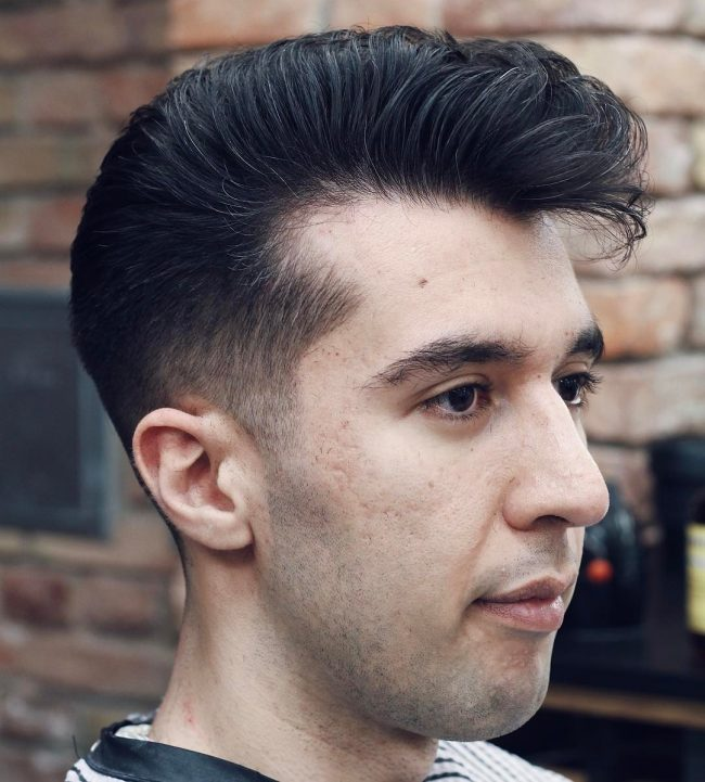 Normal Hairstyles Men: 60 Best Styles For Men With Receding Hairline