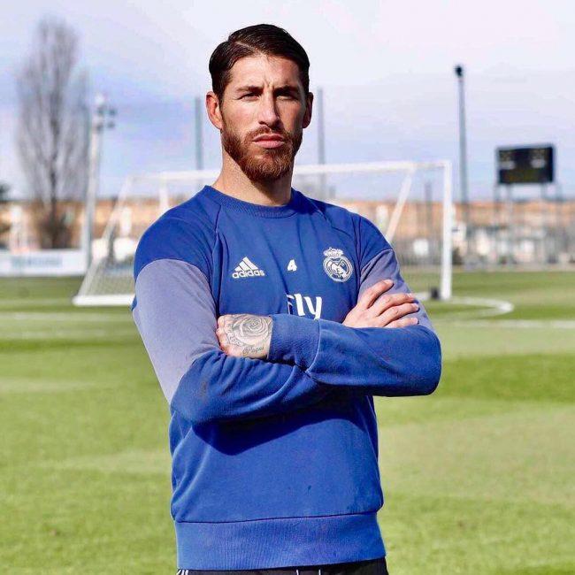 Sergio Ramos Haircuts 22