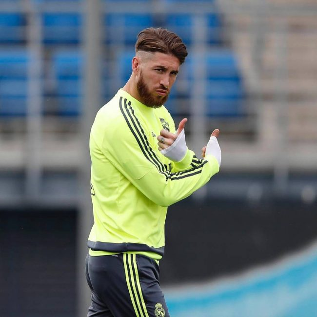 Sergio Ramos Haircut 2016