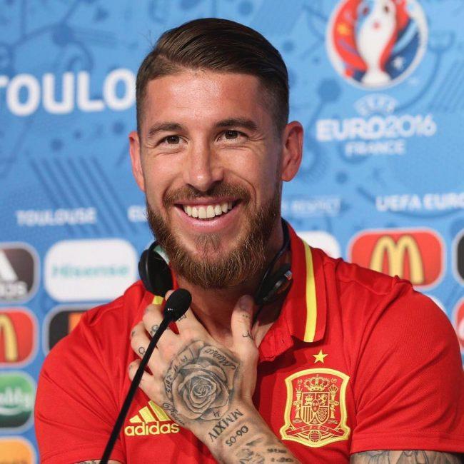 Sergio Ramos Haircuts 29