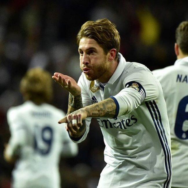 Sergio Ramos Haircuts 33