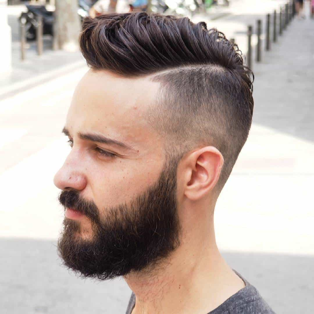 Magnificent 25 Spectacular Blowout Haircut Ideas For Men High Trend Short Hairstyles Gunalazisus