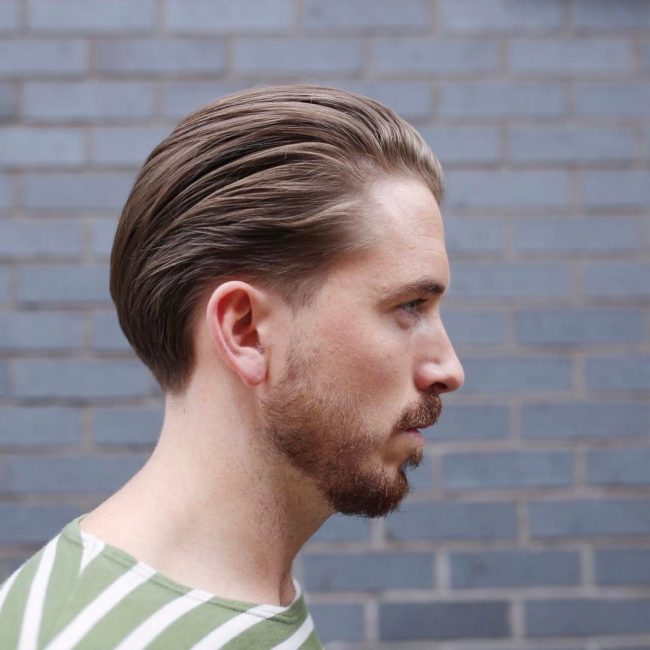 50 Gorgeous Slicked Back Hair Ideas Express Yourself 2019