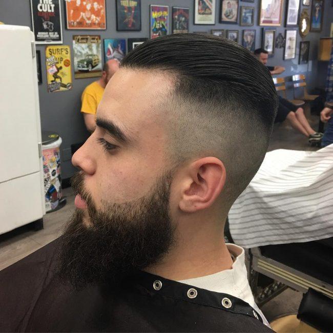 Slicked Back Hair 30