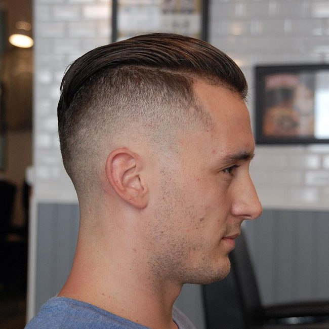 Slicked Back Hair 32
