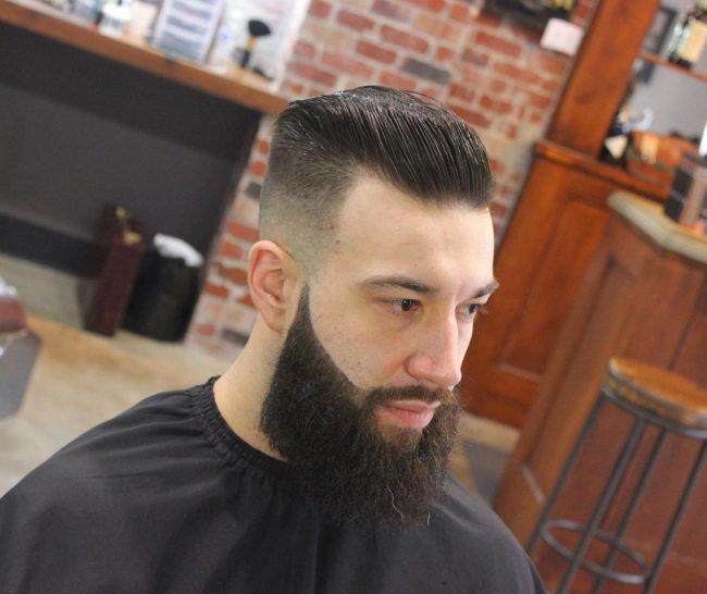 Slicked Back Hair 39