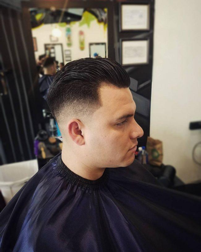Slicked Back Hair 45