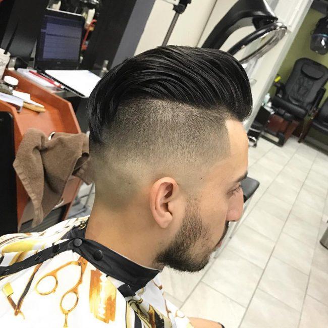 Slicked Back Hair 50