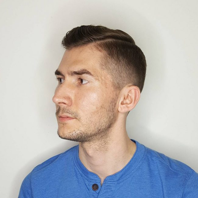 Taper Fade Mens Haircuts 48