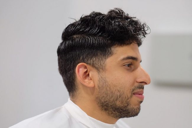 Taper Fade Mens Haircuts 58