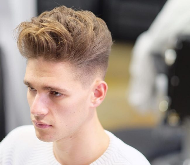 Taper Fade Mens Haircuts 64
