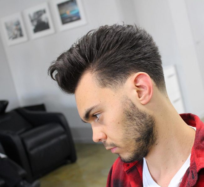 Taper Fade Mens Haircuts 65