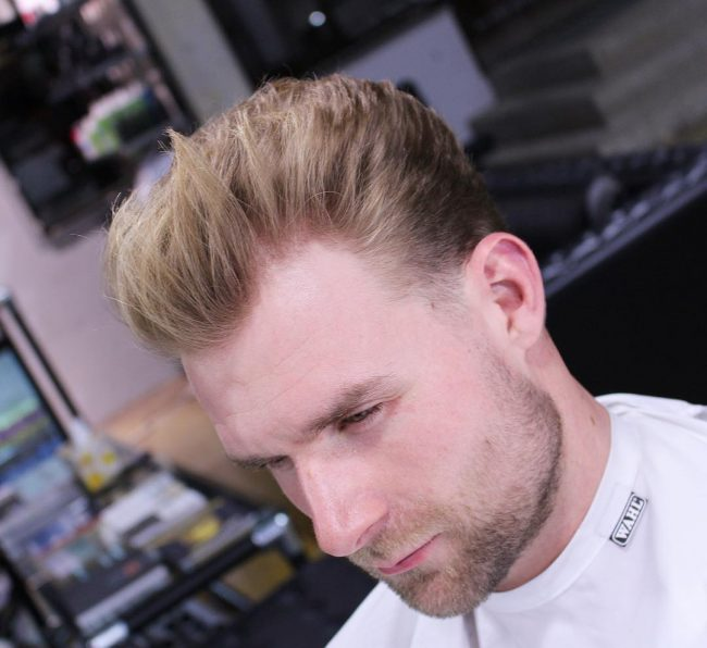 Taper Fade Mens Haircuts 66