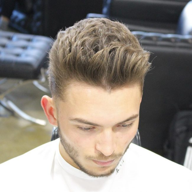 Taper Fade Mens Haircuts 67