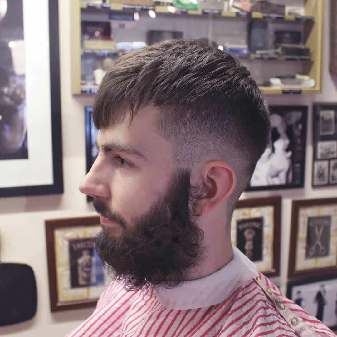 Tapered Look with Bangs