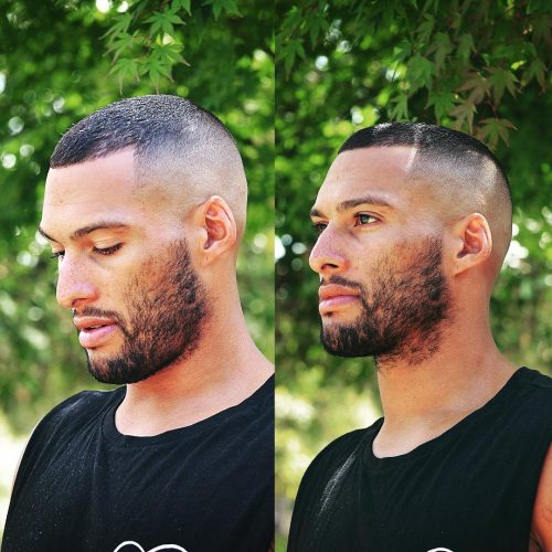 True Military 500x500 - 35 Best Military Haircut Styles For Men