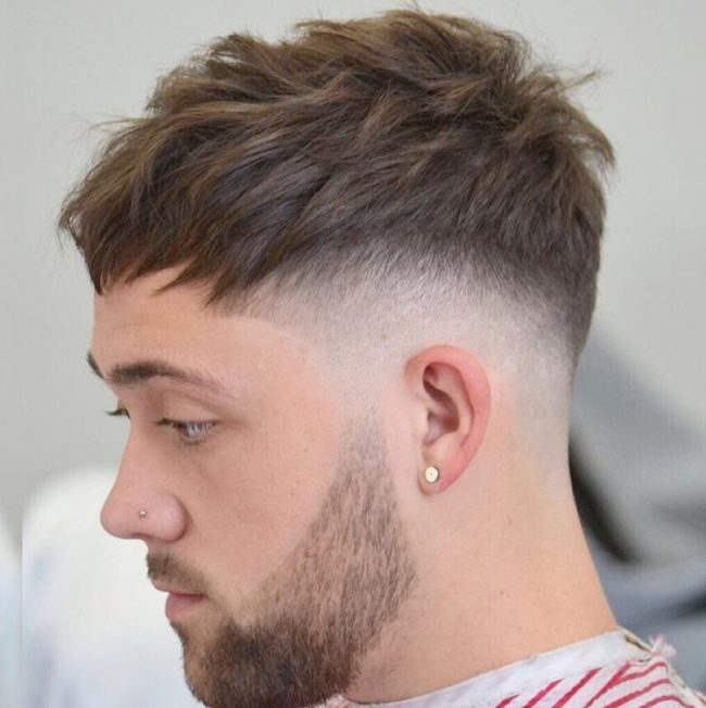 Undercut V Shape Men