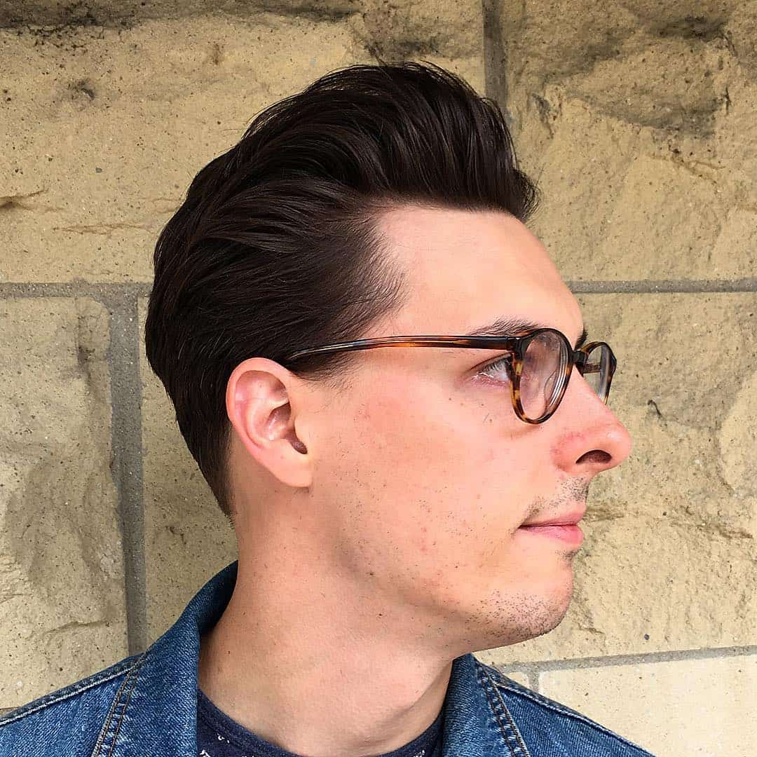 Pleasant 25 Eye Catching Greaser Hair Styles Find Your Fashion Hairstyles For Men Maxibearus