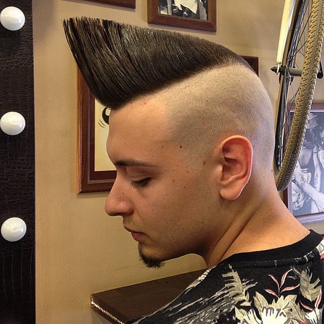 Wedge-Like Mohawk