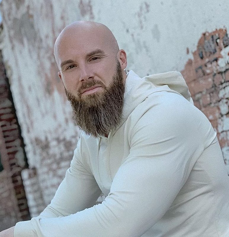 bald and beard