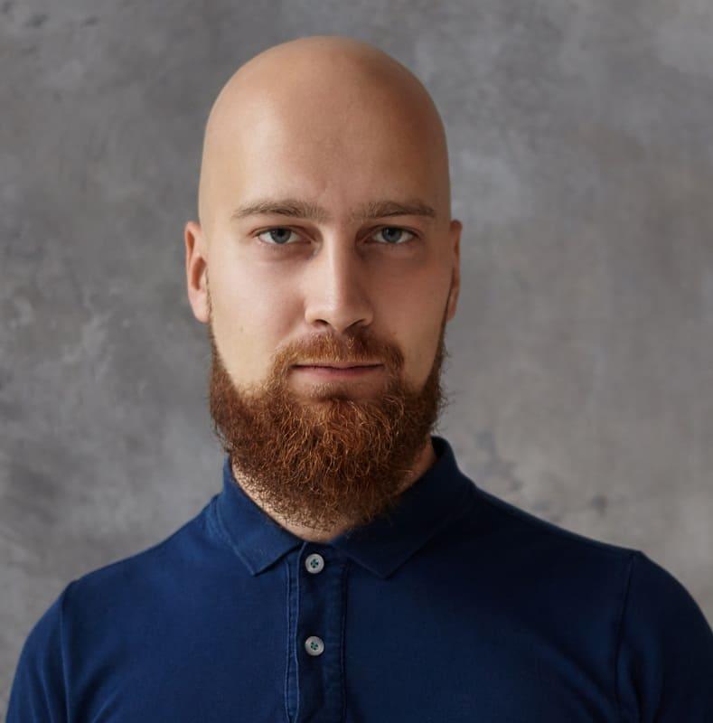 bald beard style