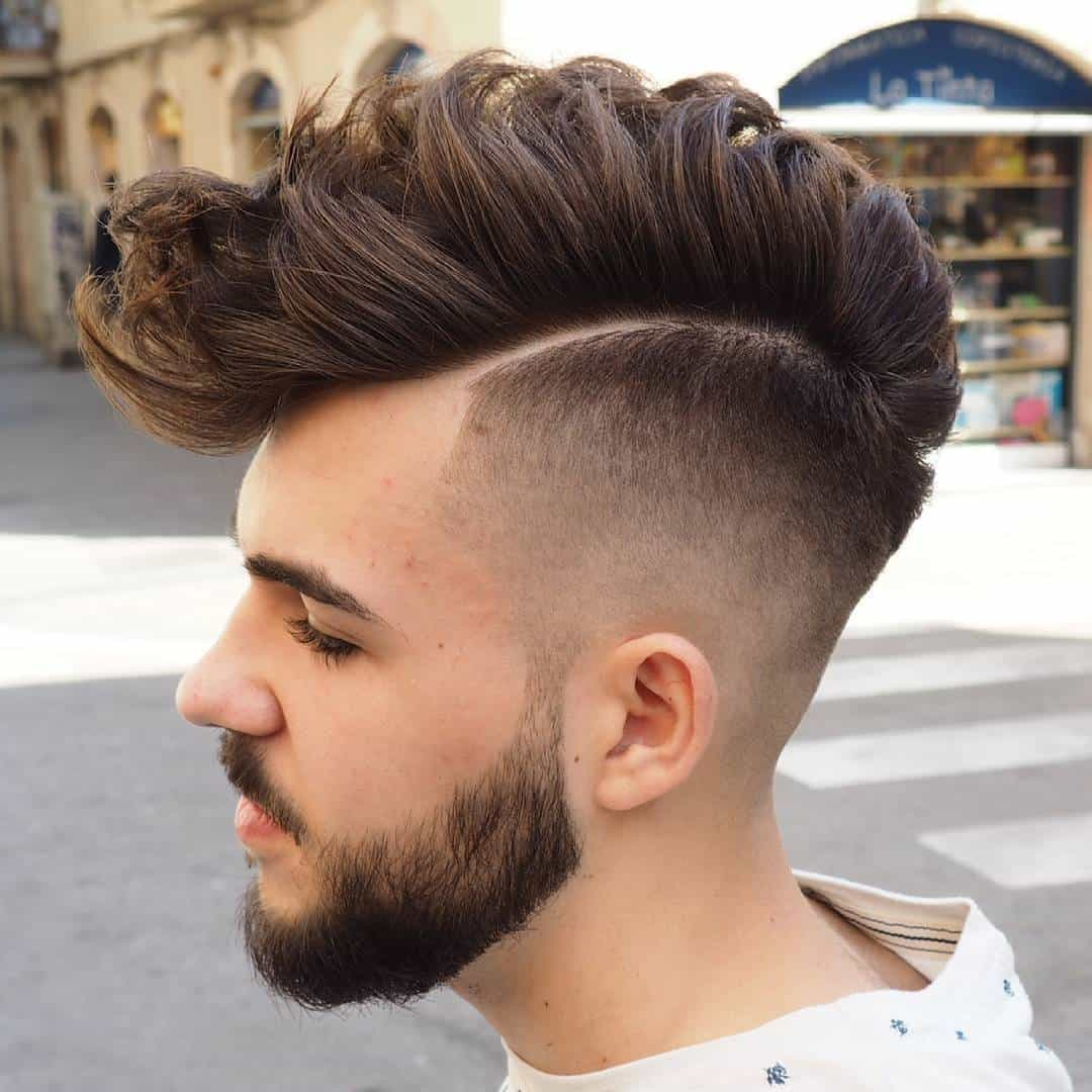 Image result for long faux hawk