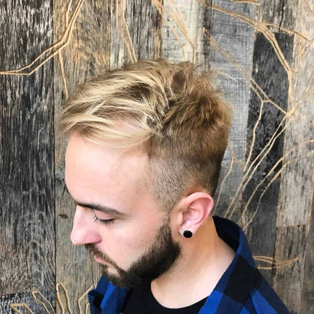 80 Stunning Bleached Hair For Men