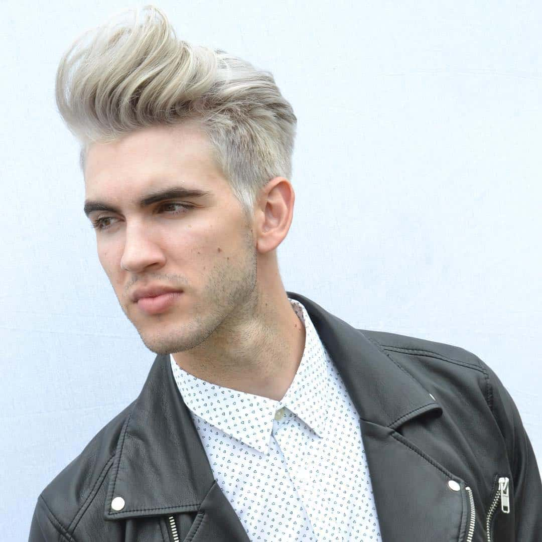 80 Stunning Bleached Hair for Men - How to Care at Home