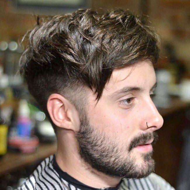 Choppy, Dark Amber Hair