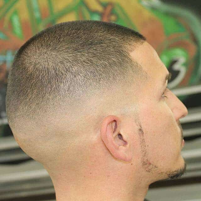 Clean Shaved Sides and Back