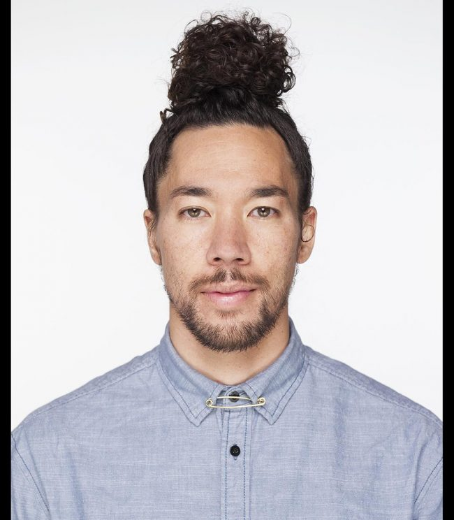 Curly Medium Size Topknot