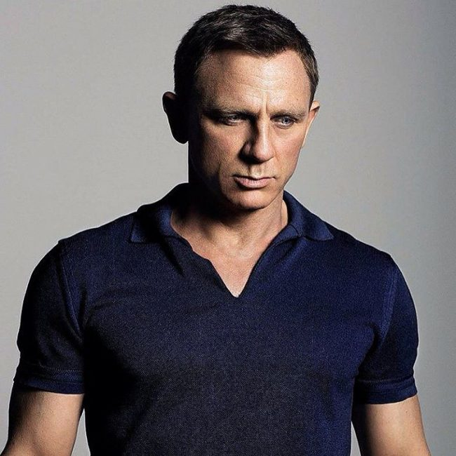 Dark Bush Cut for Daniel Craig