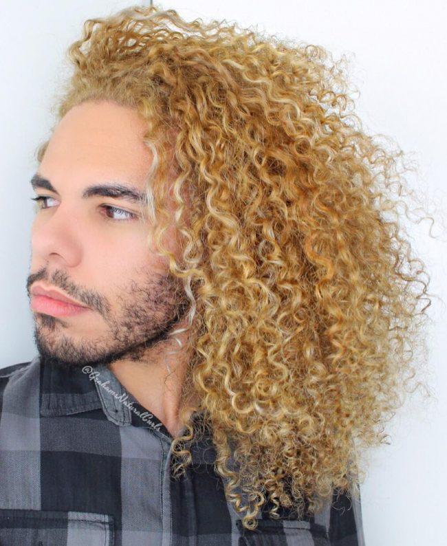 Frizzy Blonde